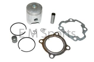 Dirt Pit Bike Yamaha PW80 Engine Motor Piston Kit w Rings 80cc 98 99