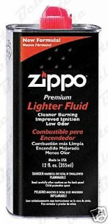 Zippo 12 oz 355ml Lighter Fluid Premium ACCESSORIES NEW