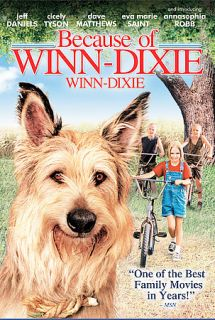Because of Winn Dixie DVD, 2005, Canadian Release Dual Side