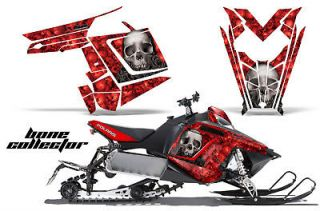 AMR RACING GRAPHIC DECAL WRAP KIT POLARIS RUSH PRO RMK 600/800 SLED