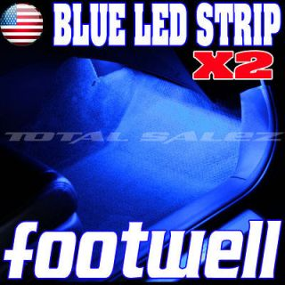 NEW BLUE LED FOOTWELL INTERIOR DASH LIGHT KIT j (Fits 2009 Charger)