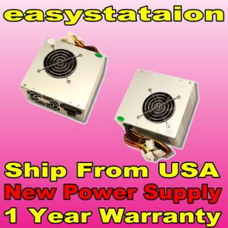 NEW 600W 20/24 pin Dual Fan ATX PSU SATA Power Supply