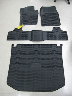 Mopar 2011 2012 Jeep Grand Cherokee 4 Door Rubber Floor/Slush Mats