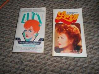Lot of 2 Lucy Lucille Ball Biographies Joe Morella Charles Higham