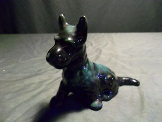 Blue Mountain Pottery 4 3/4 Scottie Scottish Terrier Sitting Dog