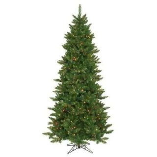 Camdon Fir Slim Christmas Tree   800 Multi Lights