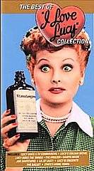 Best of I Love Lucy Collection VHS, 2001