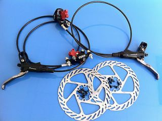 2012 AVID Elixir 9 Disc Brake set, 160mm G2 G2CS rotors, FRONT & REAR