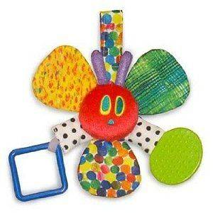 of Eric Carle Very Hungry Caterpillar Rattle Teether Baby Toy NEW