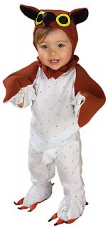 Lil Wise Guy Owl Bird Animal Cute Dress Up Halloween Baby Infant