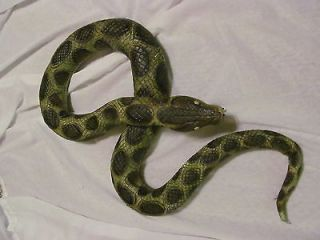 Halloween Prop Large Snake Latex Haunted House Gore Scary