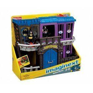 Imaginext DC Super Friends Batman Gotham City Jail w/ Batman and Bane