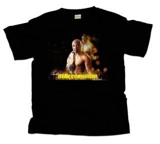 Anderson Silva Wrestling New Black T Shirt All Size