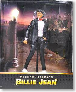 PLAYMATES TOYS MICHAEL JACKSON BILLIE JEAN PV Collection Doll ACTION