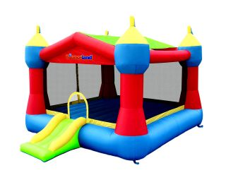 Jungle Theme Bounce House Inflatable Bouncer Moonwalk Jumper Jump