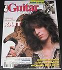 Guitar Player Magazine April 1987 Warren De Martini  RATT, Buddy Guy