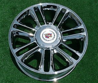 Best NEW Cadillac Escalade PLATINUM Chrome EXACT OEM GM Style 22 inch