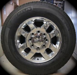 NEW 2011 13 Chevy Silverado HD 2500 3500 18 OEM Wheels Rims Tires GMC