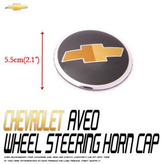 Wheel Steering Emblem Center For 06 11 Chevy Aveo 4d
