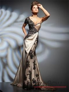2012 Sexy One shoulder Evening Dresses Fashion Long Pageant Formal