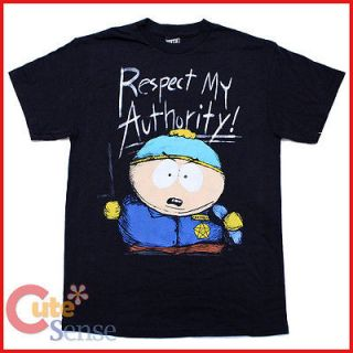 South Park Cartman Adult T Shirts Respect the Sketch My Authority Men