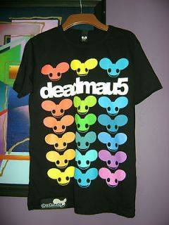 BN MEN`S FUNKY BLACK TOP T SHIRT deadmau5 SIZE UK S