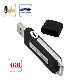 Pen Disk Flash Drive Digital Audio Voice Recorder 70 Hours Recording
