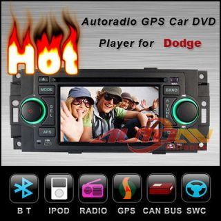 Player GPS Navigation Stereo For Dodge Charger Radio 5.0 Touch Screen