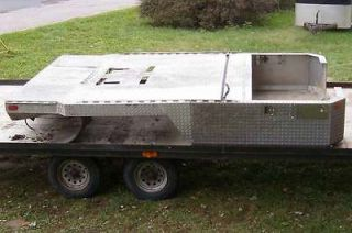 Large, Heavy Duty, diamond aluminum flat bed for dually or ???
