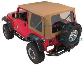 SPICE 97 06 JEEP WRANGLER SOFT TOP TINTED WINDOWS (Fits Jeep Wrangler