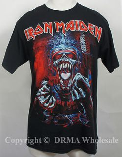 Authentic IRON MAIDEN A Real Dead One T Shirt S M L XL XXL Eddy NEW
