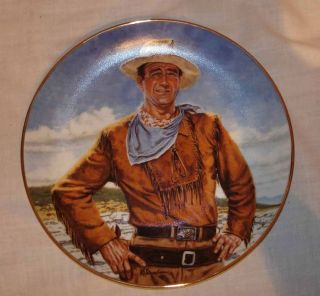 FRANKLIN MINT THE DUKE JOHN WAYNE PORCELAIN LIMITED EDITION