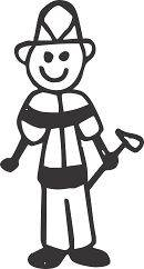 STICK PEOPLE FAMILY #48 MALE SON BOY DAD VINYL AUTO CAR WINDOW DECAL