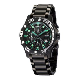 Festina Le Tour de France Ion plated Black Dial Mens watch #F16288/8