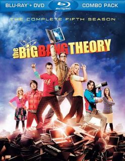 The Big Bang Theory The Complete Fifth Season Blu ray DVD, 2012, 5