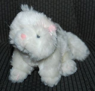 Ganz Lil Kinz Plush Toy Stuffed Animal NO TAGS Persian Cat White Baby