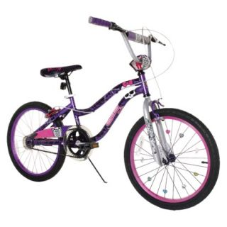 Monster High 20 Girls BMX Bike   Purple/Black product details page