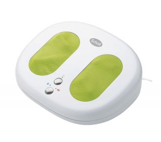 SCHOLL DRMA7802UK ARCTIC HEAT FOOT MASSAGER   WHITE/GREEN review cheap