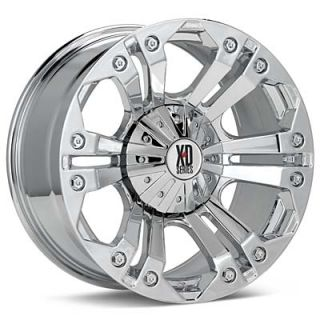KMC XD Series Monster (Chrome Plated)