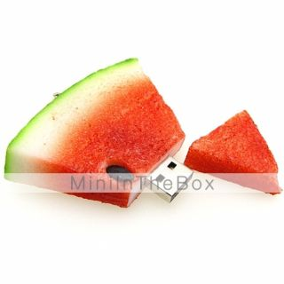 USD $ 46.99   Watermelon Style USB Flash Drive 8GB   Food Shaped USB