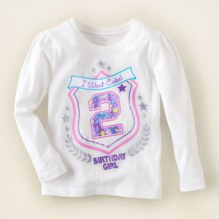 baby girl   birthday graphic tee  Childrens Clothing  Kids Clothes