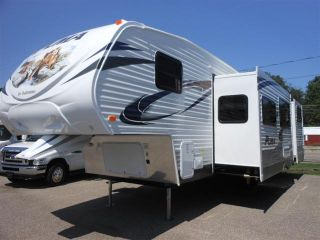New 2013 Forest River Puma Fifth Wheel Trailer For Sale In Houghton