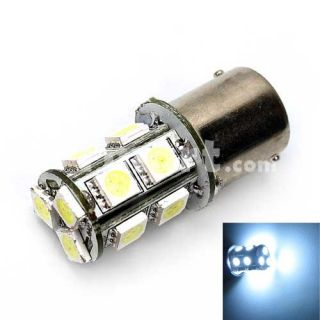 13 LED Car Turn Brake Lamp Light Bulbs White   Tmart