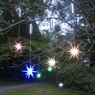 LED Outdoor Star Ornaments at Brookstone—Buy Now