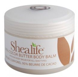Shea Life Cocoa Butter Body Balm 100g   Free Delivery   feelunique
