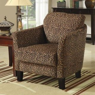 Wildon Home Scurry Leopard Print Chair 900403