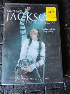 Michael Jackson Life of a Superstar EPIC DVD MOVIE BIOGRAPHY STORY POP