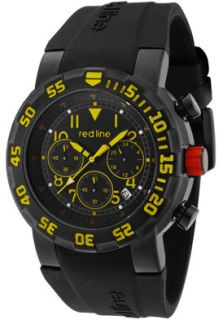 Red Line 50027VD BB 01YL Watches,Mens RPM Chronograph Black Dial