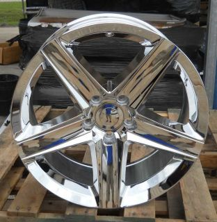 20 9/10 Jeep Grand Cherokee SRT SRT8 Chrome Set of Wheels   Brand