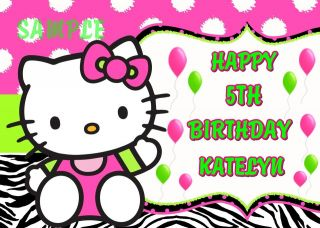 hello kitty cake topper in Holidays, Cards & Party Supply
